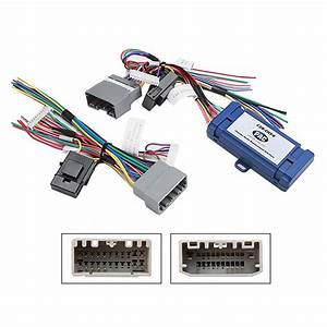 Car Radio Stereo Amplified Harness Interface For 2007