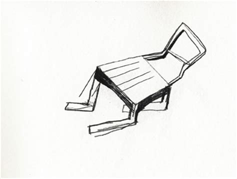 dessin chaise untitled