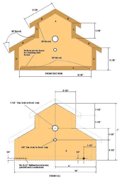 woodwork bird house plans kids  plans