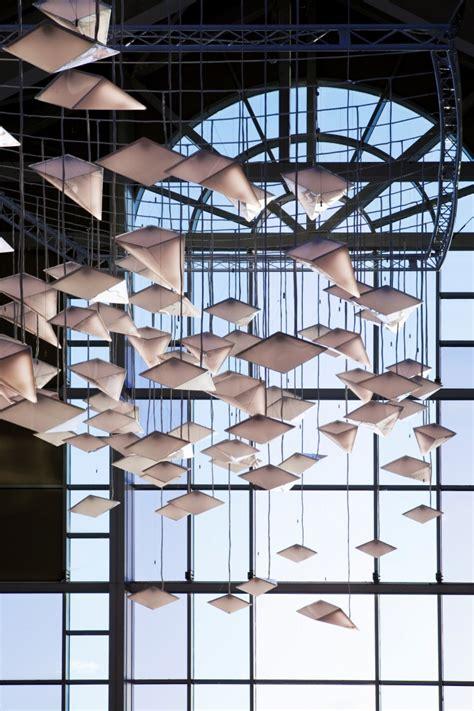flock of birds lighting design concept by paul nulty lighting design