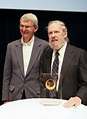 File:Dennis Ritchie (right) Receiving Japan Prize.jpeg ...