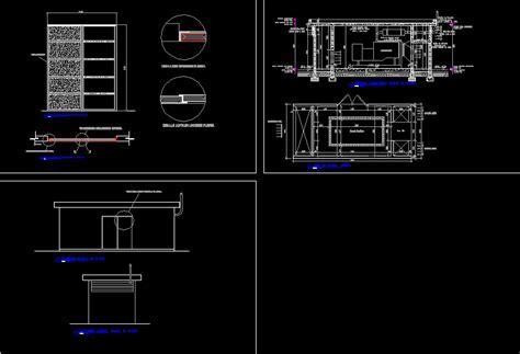Platform Housing For Electrical Generator DWG Block for