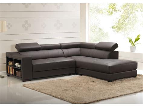 salon canapé d angle canapé d 39 angle en cuir de vachette 5 coloris leeds