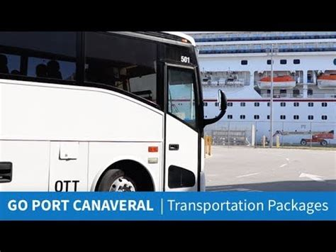 Go Canaveral by Canaveral Cruise Transportation Go Canaveral