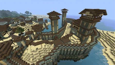 Küstenfestung Minecraft Project