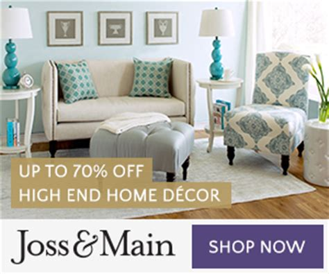 Joss & Main Free Shipping Today (317) Only