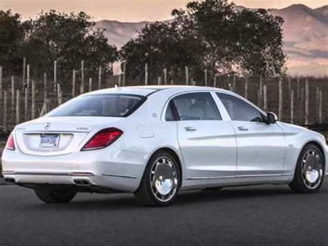 All New 2015 Mercedes-benz Mercedes-maybach S600 White