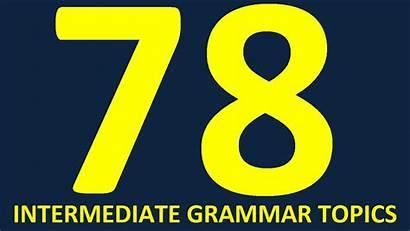Intermediate English Learn Level Grammar Advanced Lessons