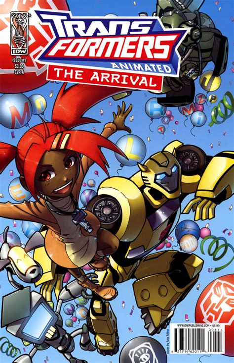 Comic Transformers Animated The Arrival Issue 6