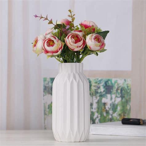 Vase Stand Decor Vase Flower Vase by Ceramic Flower Vase Home Decor Simple Luxury Desk Decor