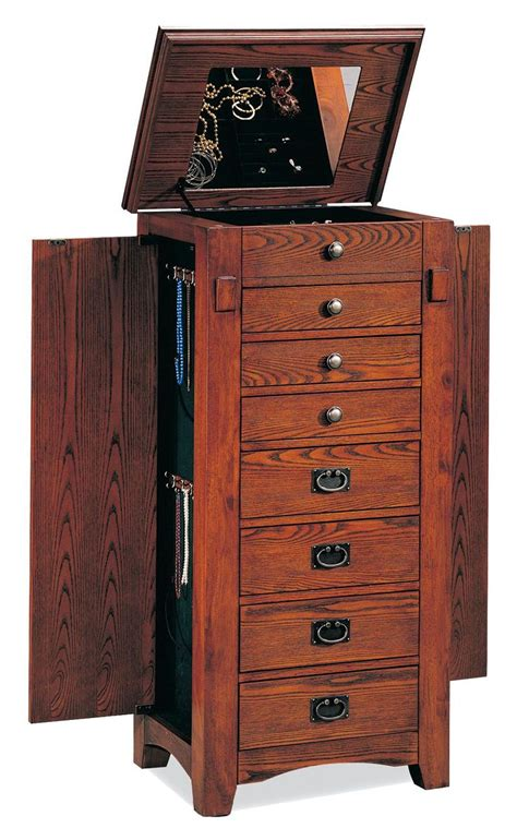 Jewelry Cabinets Furniture by Jewelry Cabinet For Safe Storage Resolve40