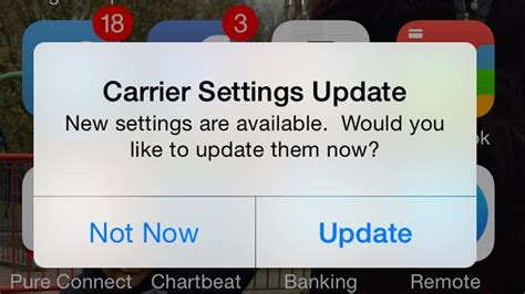 what is carrier settings update on iphone why is my iphone asking if it can update carrier settings