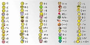 All Kinds Of Text Smileys In The World   ThemesCompany
