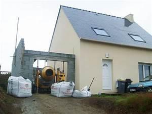 construire un garage en parpaing elvation de pignon With construire son garage en parpaing
