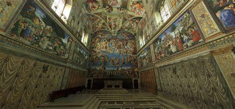 plafond de la chapelle sixtine la chapelle sixtine en 3d cachem