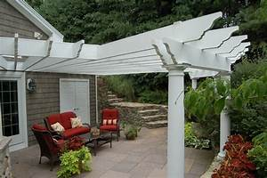 pergola and patio cover leominster ma photo gallery With outdoor lighting attached to house