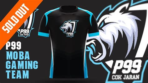 Esport Logo P99 Mobile Legend Gaming Team