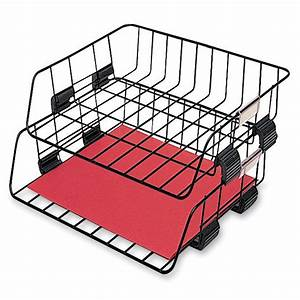 fellowes wire stacking letter tray ld products With stackable wire letter trays
