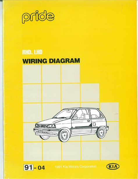 Ford Festiva Wiring Diagram Pdf by 91 Kia Pride Wiring Diagram