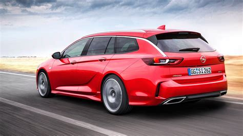 Opel Wagon by Opel Insignia Gsi Is A 200 Hp Wagon Family Won T Be