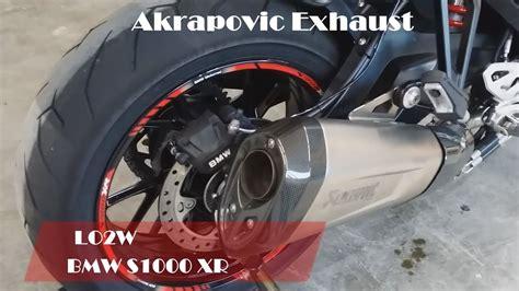 Top 6 Full Exhaust Sound Bmw S1000 Xr / Akrapovic, Remus