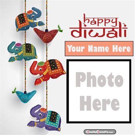 photo frame happy diwali wishes
