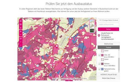 Telekom Dsl Verfügbarkeit Karte