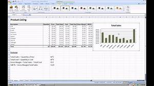 Excel 2007  How To Create A Graph Or Chart Using Your