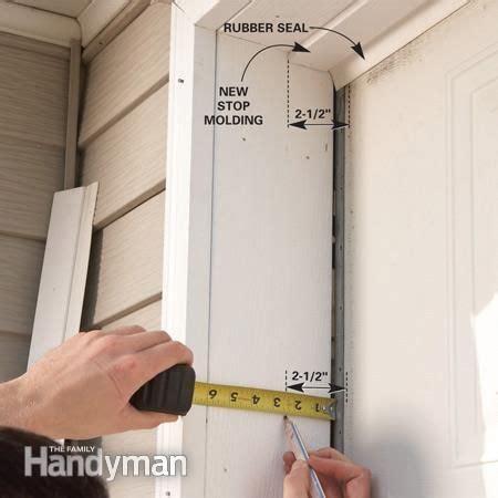 30507 garage door jamb trim sweet fixing garage doors garage doors garage door bottom