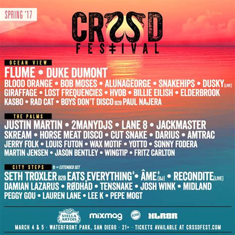 crssd fest 2017 lineup announced flume duke dumont lane
