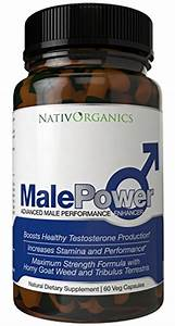 Male Libido Enhancer For Men Testosterone Supplement  U2013 Libido Booster For Men With Natural
