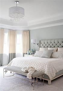 Lustre Pour Chambre : la chambre grise 40 id es pour la d co ~ Teatrodelosmanantiales.com Idées de Décoration