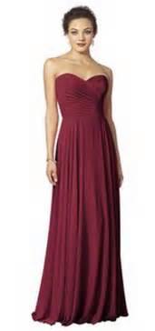 bridesmaid dresses in burgundy burgundy bridesmaid dress