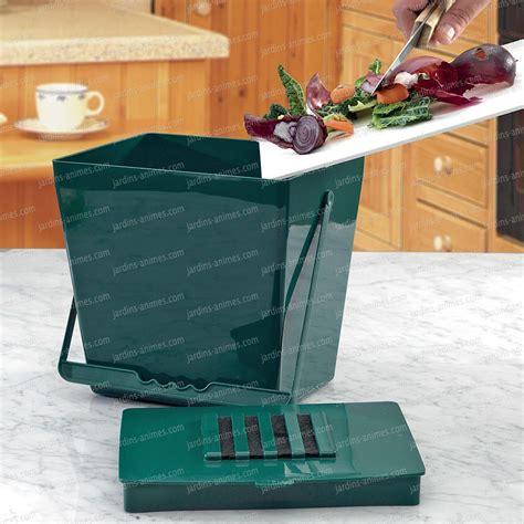 odeur de cuisine bio seau anti odeur 5l vert accessoire ustensile cuisine