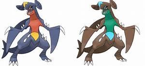 Pokemon Shiny Garchomp Images | Pokemon Images
