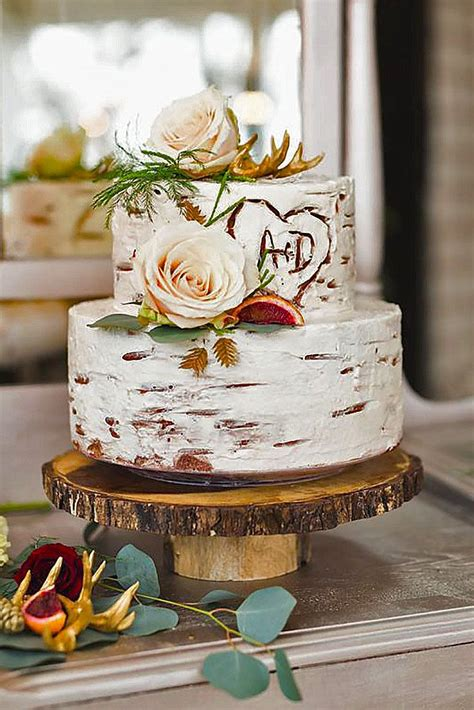 30 small rustic wedding cakes on a budget wedding fall