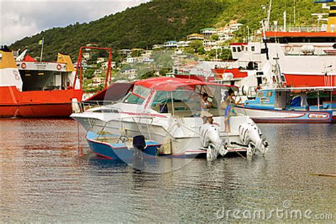 Various Types Of Boats by Various Types Of Boats At Admiralty Bay Editorial Stock