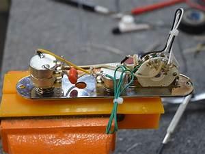 Telecaster Wiring Harness W  Tbx Tone Control  U0026 4