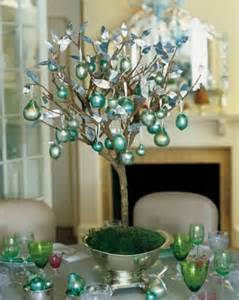 martha stewart white christmas ornaments silver fruit tree
