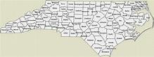 Map of North Carolina Counties - Free Printable Maps