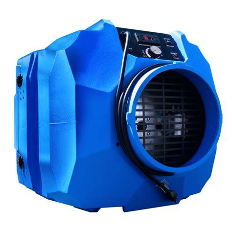 nitro portable hepa air scrubber  omnitec design