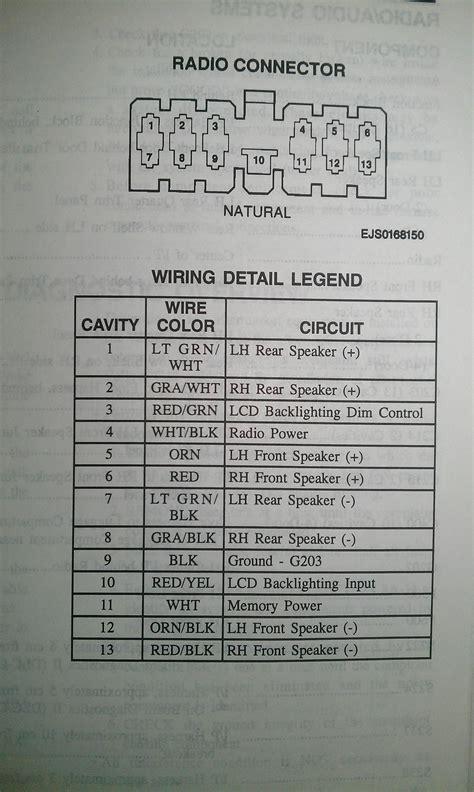 2002 Chevy Prizm Wire Diagram Wiring Schematic by Prizm Radio Wiring Wiring Diagram