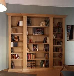 Bibliotheque Chene Massif : meubles boiseries biblioth ques en bois massif paris ~ Teatrodelosmanantiales.com Idées de Décoration