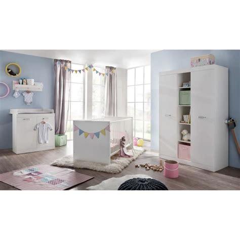 chambre complete cdiscount ronja chambre bébé complète 3 pièces lit 70x140 cm