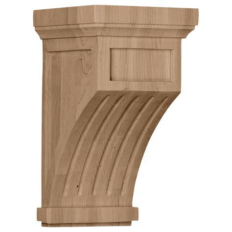 Oak Corbel by Ekena Millwork Corbel Oak Cor07x07x13flro