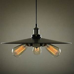Free shipping loft vintage industrial pendant light iron