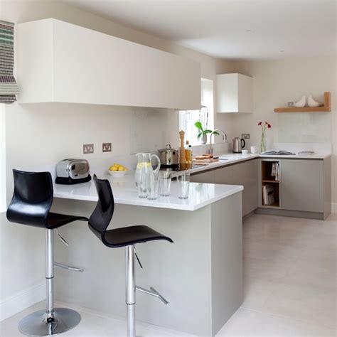 white modern breakfast bar housetohome co uk