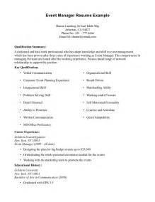 resume summary exles customer service sle resume for experience jianbochen com