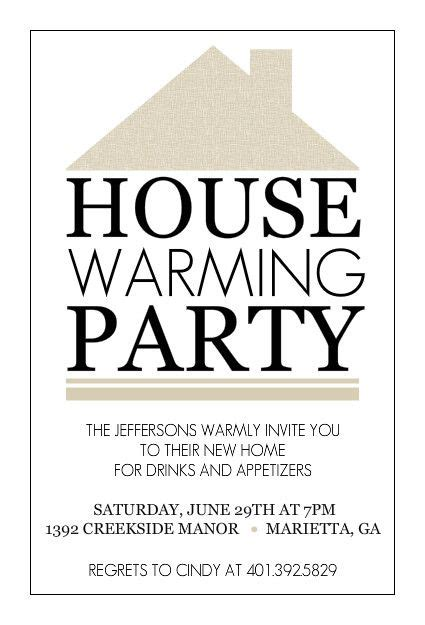 housewarming party invitations printable