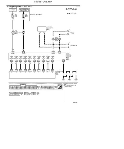 wiring diagram for fog light on titan cc xe nissan titan